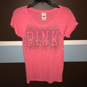 Pink! Loose fit tee